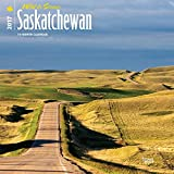 Saskatchewan Wild & Scenic 2017 - 12inch x 12inch Hanging Square Wall Photographic Canada Nature Planner Calendar