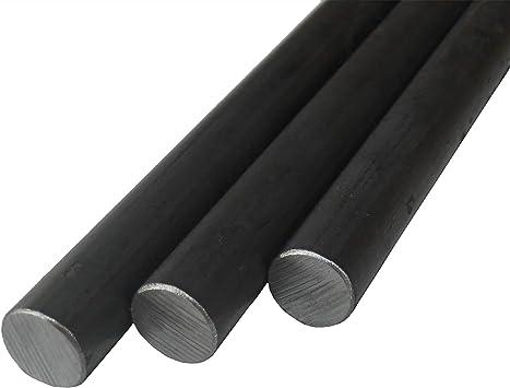 Stahl Rundstahl blank//roh//gewalzt ST37 S235 Rundeisen Rundmaterial Abmessungen /Ø 20 mm L/änge 200 cm