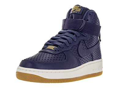 the best attitude 67c20 a5a26 Nike WMNS Air Force 1 Hi PRM, Women s Sneakers  Amazon.co.uk  Shoes   Bags