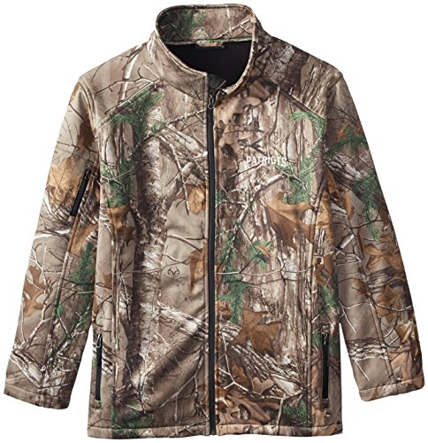NFL New England Patriots Huntsman Softshell Jacket, Real Tree Camouflage, 2X ()