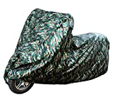 LotFancy 210D Oxford Waterproof Motorcycle Cover for...