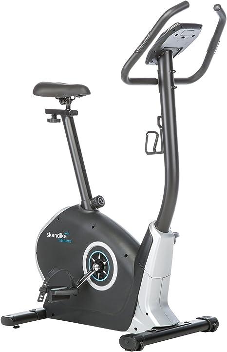 skandika Bicicleta estática Zelos - 12 programas - pulsometro ...