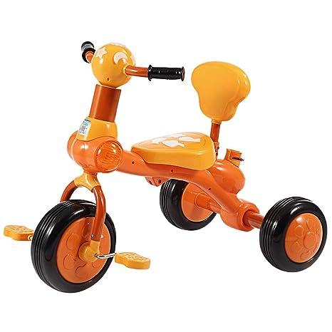 Triciclo para niños Bicicleta Bebé Coche Cochecito para niños Niño Juguete Coche Cochecito para niños 1