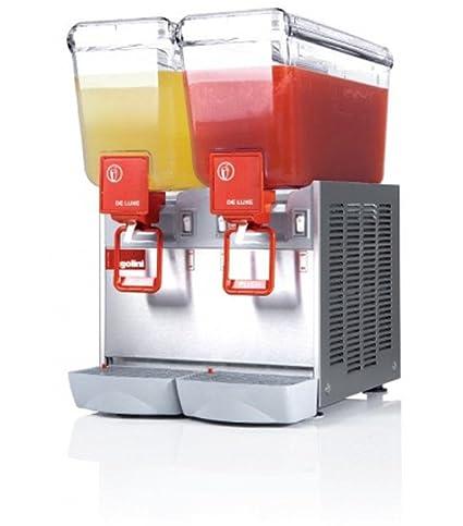 Dispensador de bebidas frías 2 x 12 x P470 litros-L360-UGOLINI x H570