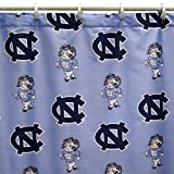 College Covers North Carolina Tar Heels Shower