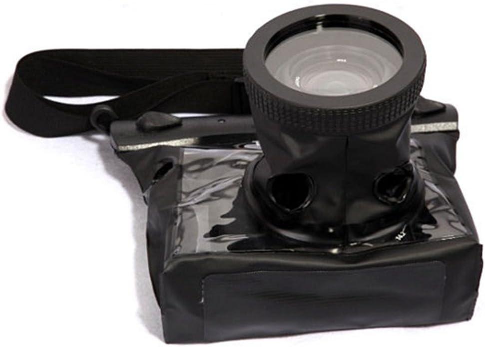 SMO 20 m-Caja estanca-Bolsa sumergible para cámara de fotos réflex digital, color negro: Amazon.es: Electrónica