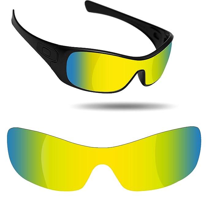52cb144e705e Fiskr Anti-Saltwater & Anti-Oil Polarized Replacement Lenses for Oakley  Antix Sunglasses - Multiple Options: Amazon.ca: Clothing & Accessories