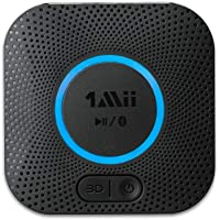 [Upgraded] 1Mii B06 Plus Bluetooth Receiver, HIFI Wireless Audio Adapter, Bluetooth 5.0 Receiver with 3D Surround aptX…