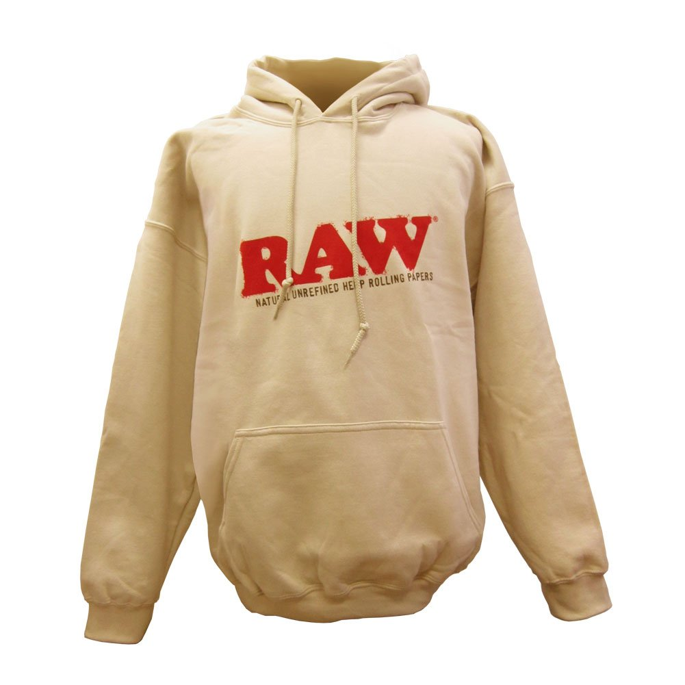 552e9c7ae82a15 Amazon.com: RAW Men's Rolling Papers Hoodie: Clothing