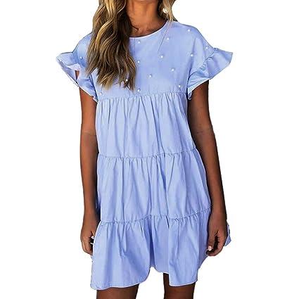 Mujer Blusa Vestido moda fashion 2018 traje de calle casual Otoño,Sonnena Vestido sin mangas