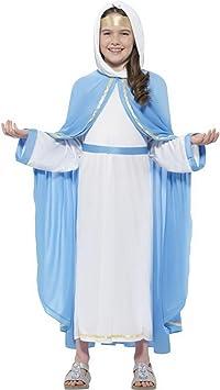 erdbeerclown Niña Infantil Disfraz Virgen María para el belén ...