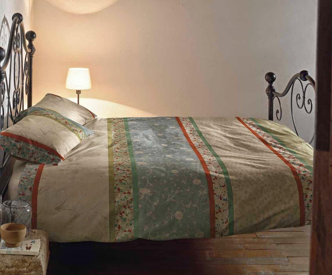 Bassetti Grandfoulard.- Bettwäsche Doge V2, 220x220 cm + Spannbettücher 135x200 + 1 kissenbezug 45x145 cms