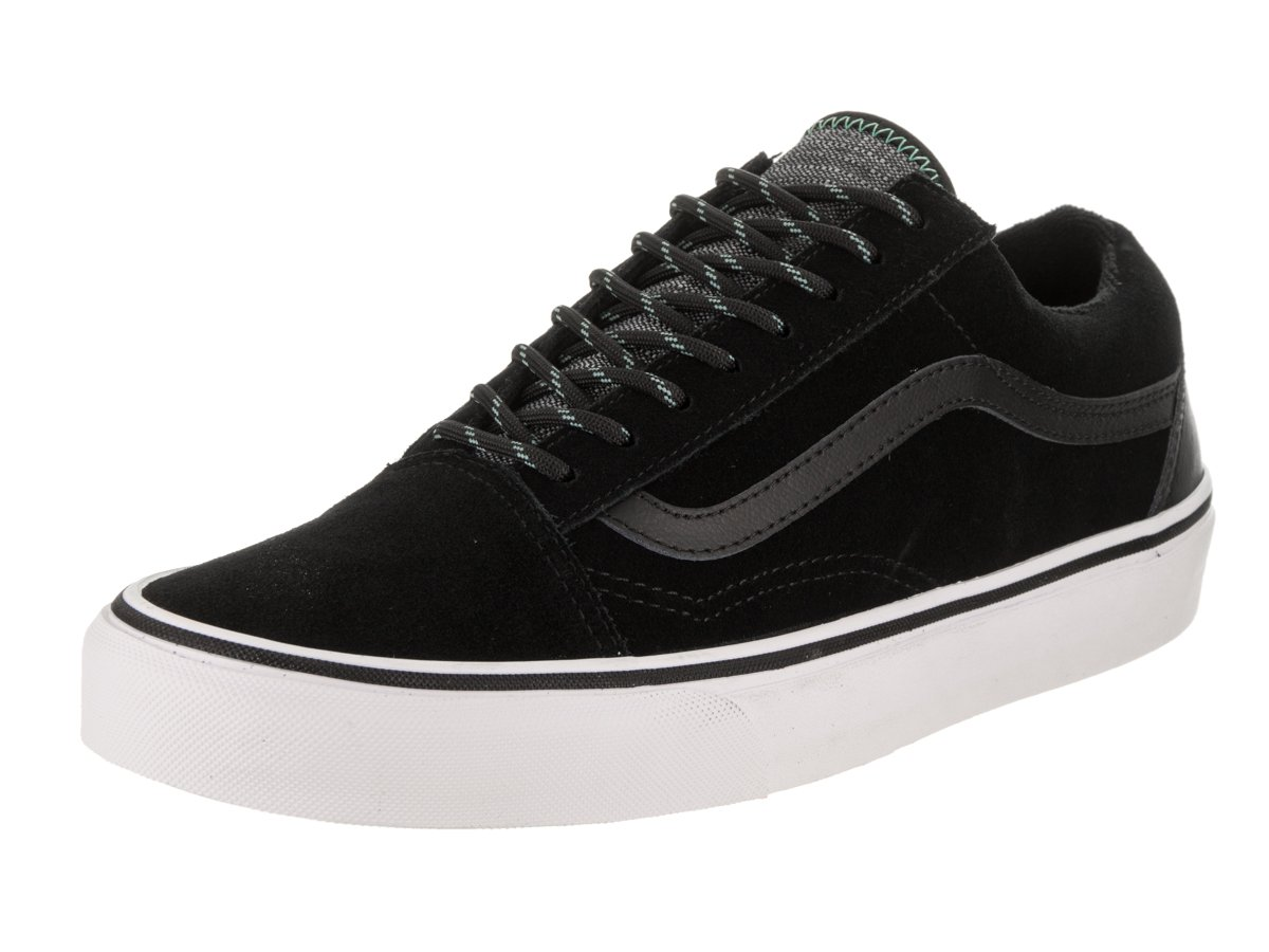 Vans Unisex Old Skool Classic Skate Shoes B06Y2M1XKS 41 M EU / 10 B(M) US Women / 8.5 D(M) US Men|Black/Wasabi