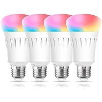 Deals on 4 Pack LOHAS A19 WiFi Smart LED Bulb w/Alexa