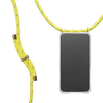 con Cordon para Llevar en el Cuello KNOK case Funda Colgante movil con Cuerda para Colgar iPhone 7//8 Plus Carcasa de m/óvil iPhone Samsung Huawei con Correa Colgante Hecho a Mano en Berlin