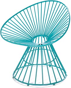 Home Locomotion Teal Blue Patio Lounge Chair