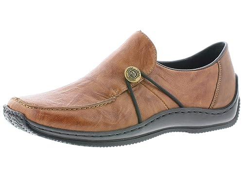 cheapest 100% genuine new collection Rieker Damen SlipperMokassins L1781, Frauen Slipper