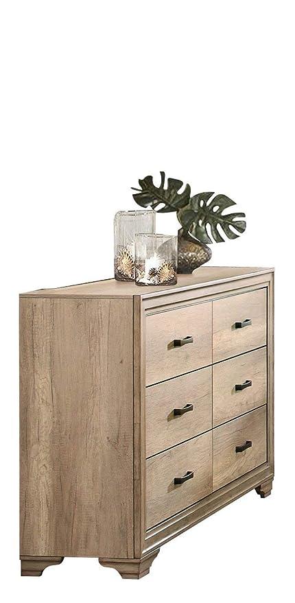 Landen Rustic Dresser - Madera blanqueada: Amazon.es: Juguetes y ...