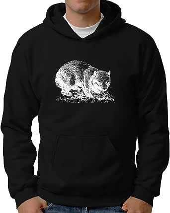 Eddany Wombat Sketch Hoodie