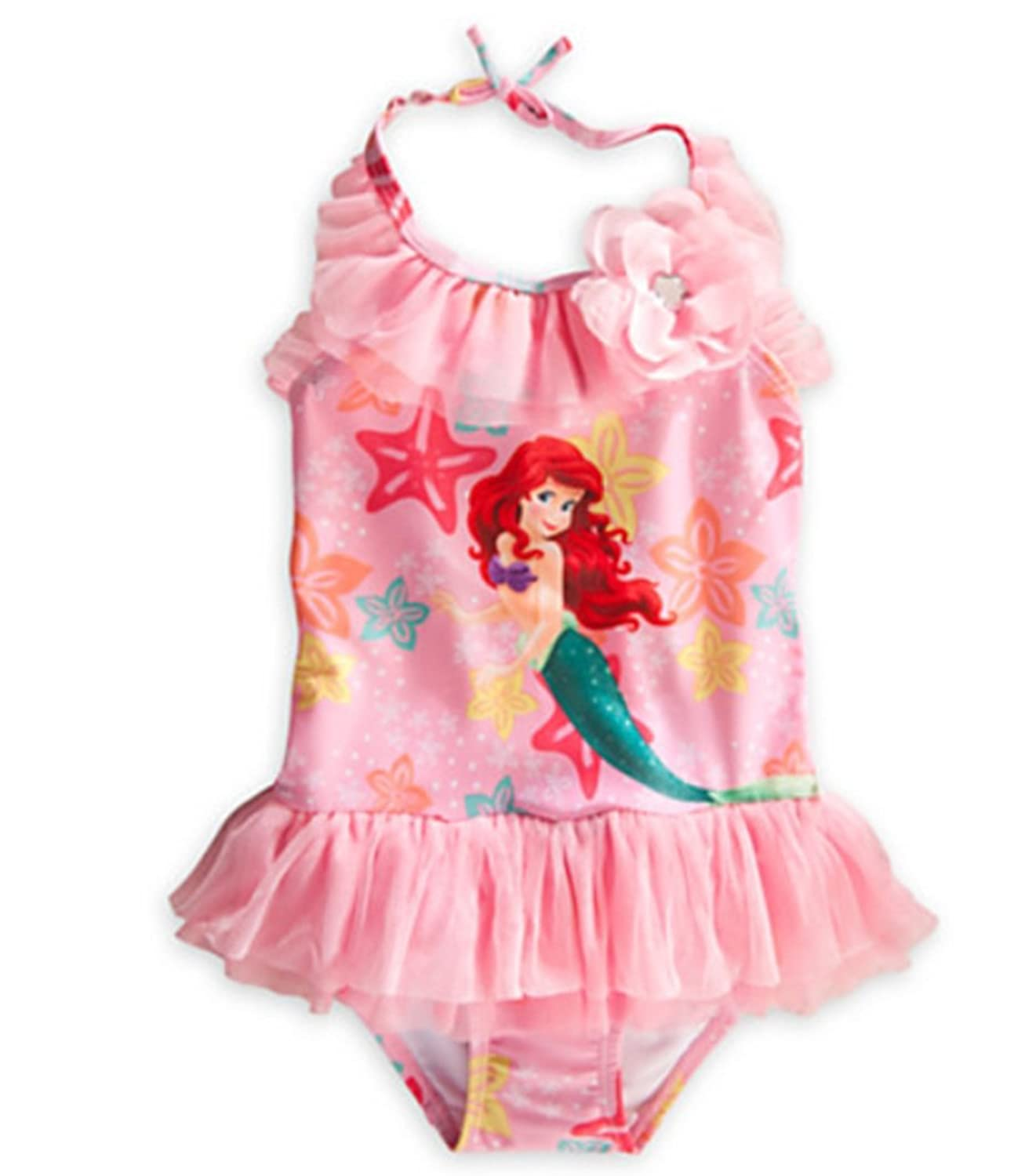 Amazon Disney Little Girls Ariel Deluxe Swimsuit 2 Clothing