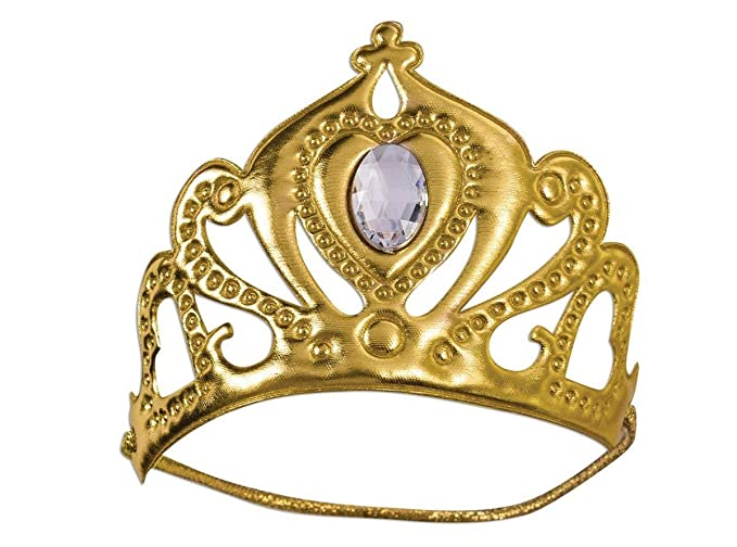 Amazon com: Forum Novelties Royal Queen Costume Tiara Gold