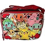 Pokemon Pikachu Red Soft School Lunch Kit Bag Box (Licensed ) New