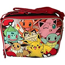 Pokemon Pikachu Red Soft School Lunch Kit Bag Box (Licensed ) New