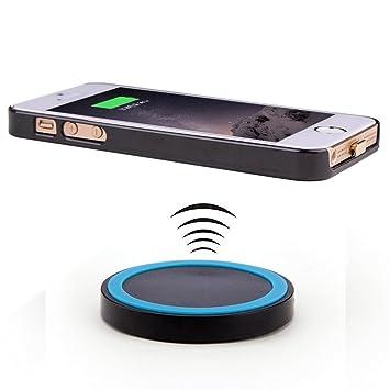 Antye® Qi Cargador Inalámbrico Receptor teléfono móvil para ...
