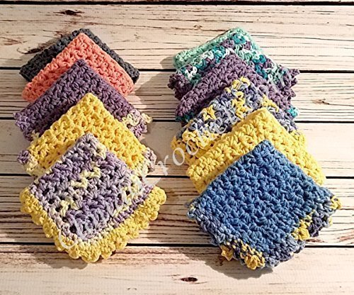 Thick and Thirsty Cotton Dishcloths