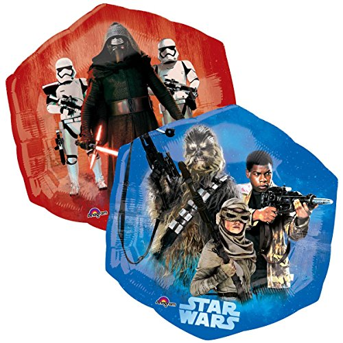 Star Wars Shaped Balloon - Star Wars The Force Awakens Supershape Balloon