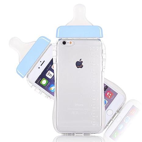 Dosige iPhone 6 Plus/6s Plus/7 Plus Carcasa con,Transparente ...