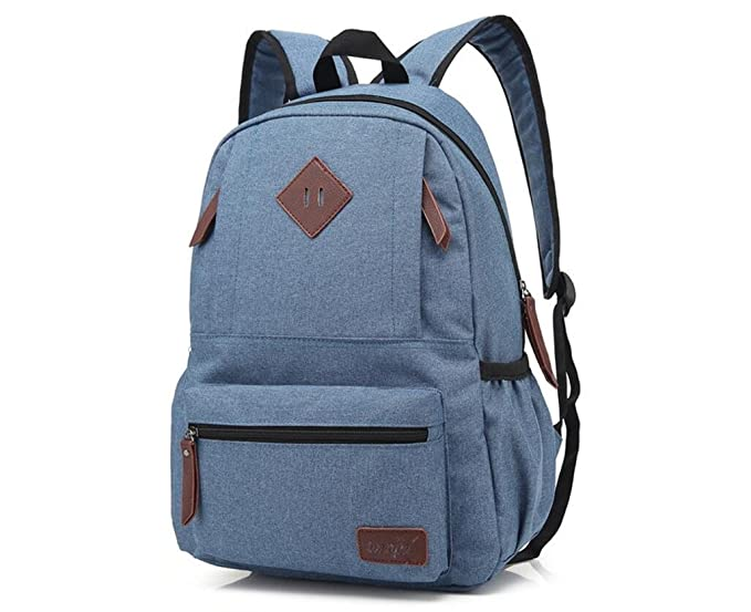 xibeitrade lienzo mochila de viaje mochila escolar bolsa ordenador portátil mochila RoyalBlue: Amazon.es: Electrónica