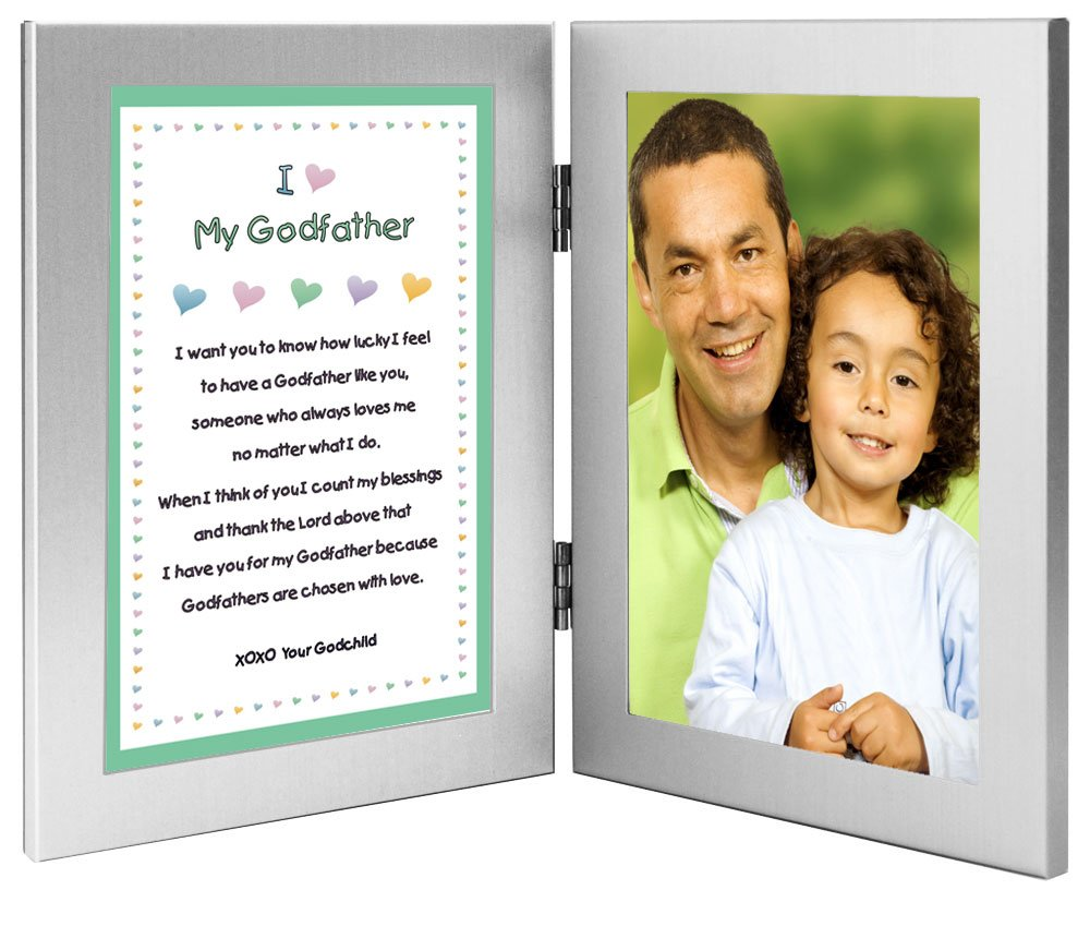 Godfather Gift - Sweet Godfather Poem From Godson or Goddaughter in ...