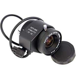 Amazon com : 6-60 mm Motorized Zoom CS-Mount Lens : Camera & Photo