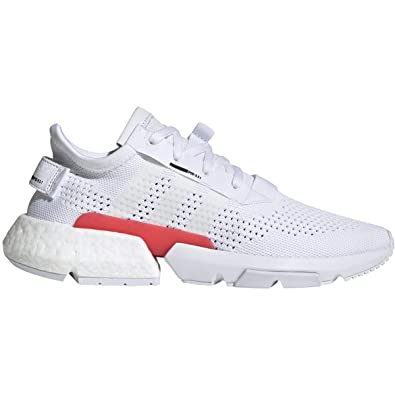 adidas Mens Originals POD-S3.1 Shoes (10.5 M US), White/White/Black