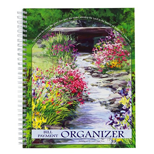 - Christian Collection God's Promise Bill Payment Organizer - Featuring Art By Laurie Snow Hein