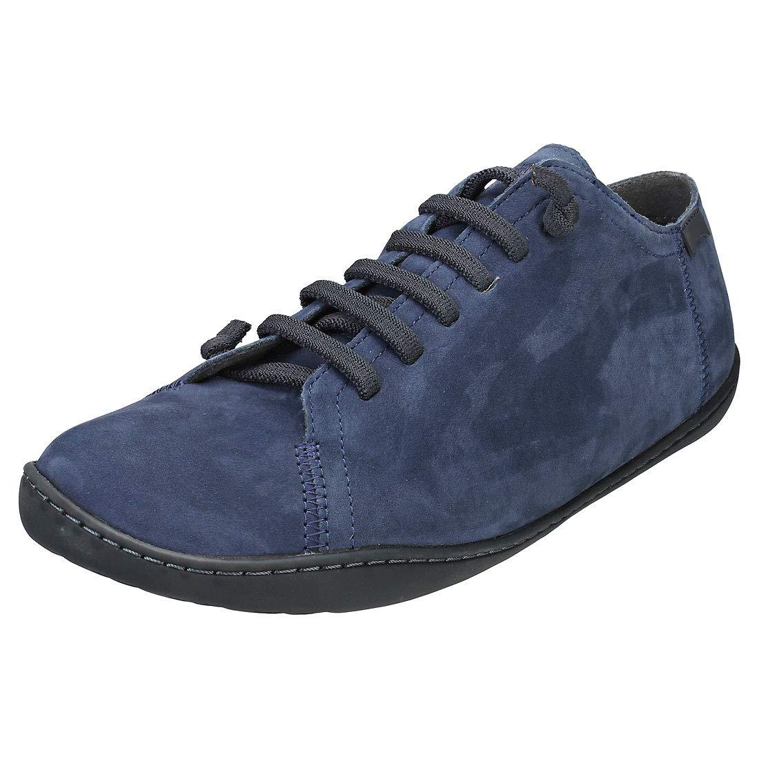 Dark bluee Camper Mens Peu Cami Leather shoes
