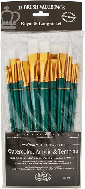 Royal & Langnickel RSET-9310 - Juego de pinceles de fibra de ...
