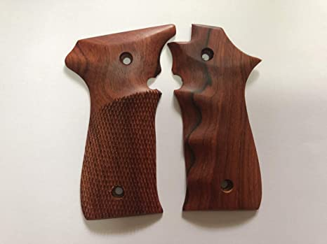 Amazon com : Handmade New Wooden Grip for Llama 380 ACP