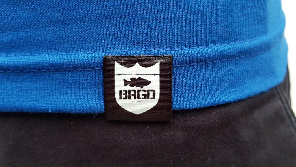 Bass Brigade T-Shirt blau//gr/ün Kleidergr/ö/ße M