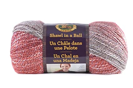 Amazon Lion Brand Yarn 828 301 Shawl In A Ball Moonstone