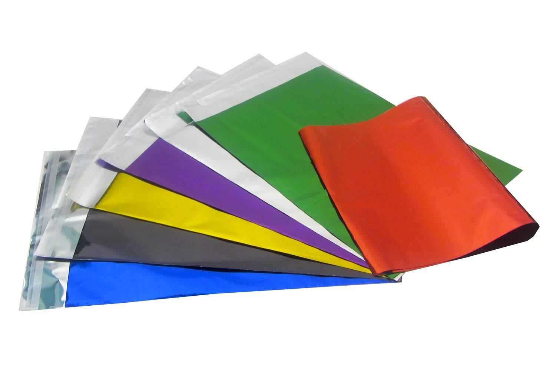 50 x cierre autoadhesivo Multi colores brillante papel de embalaje enví os Sobres Bolsas de regalo 250 x 350 mm, color azul SX4