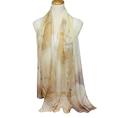 0646fb6f4 Spring and Autumn ultra-thin soft scarf georgette scarf lotus shawl female  lotus quality vacation