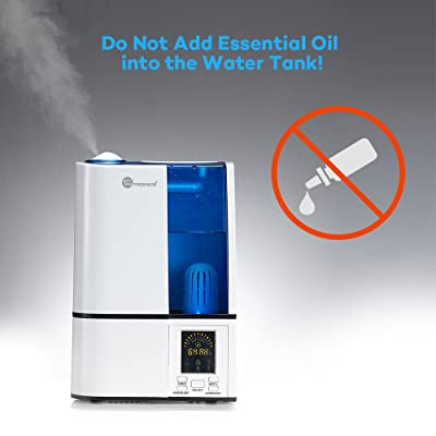 Do not add Essential Oils to TaoTronics Cool Mist Humidifier