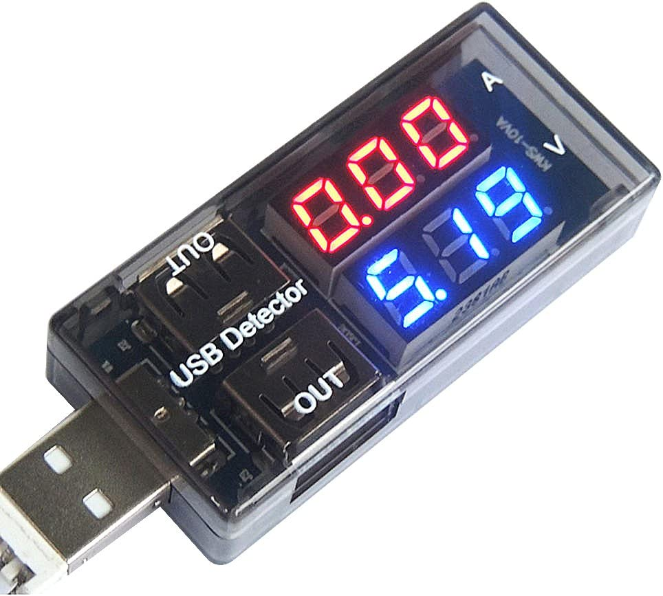 Mobile Power Module USB Load Resistors LCD USB Voltage Current Tester Monitor