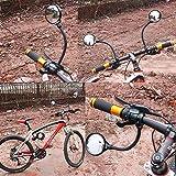 DRCKHROS Bike Mirror Rotatable and Adjustable