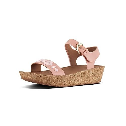 381450009633b Fitflop Women s s Bon Tm Ii Back-Strap Sandals Ankle  Amazon.co.uk ...