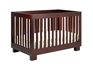 Babyletto Modo 3 In 1 Convertible Crib With Toddler Bed Conversion Kit Espresso
