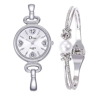 Rcool Relojes suizos relojes de lujo Relojes de pulsera Relojes para mujer Relojes para hombre Relojes deportivos,Pulsera Set Cadena Reloj Regalo De ...