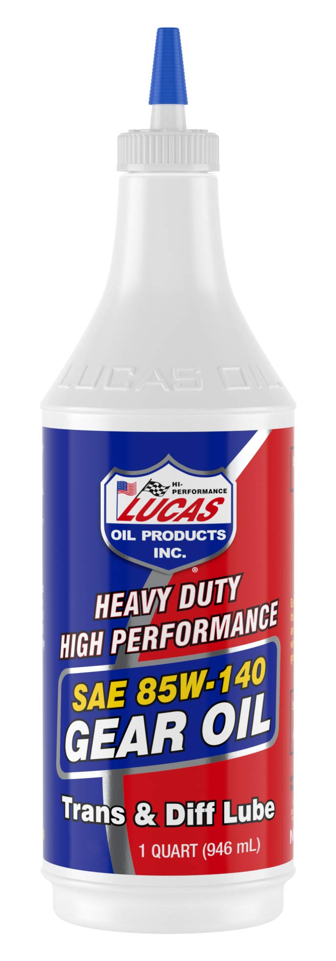 Lucas Oil LUC10042 SAE 85W-140 Heavy Duty Gear Oil - 1 Quart, Multi-Colored
